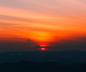 Enjoy the sunset on our sun gazing experience