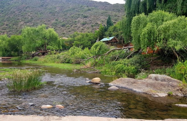 Swartberg Mountain - Old Mill River